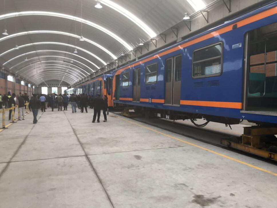 Talleres La Paz ampliación Metro CDMX