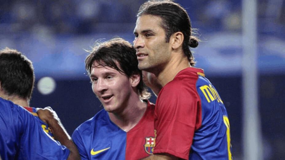 El mensaje de Rafa Márquez tras la salida de Messi del Barcelona.png