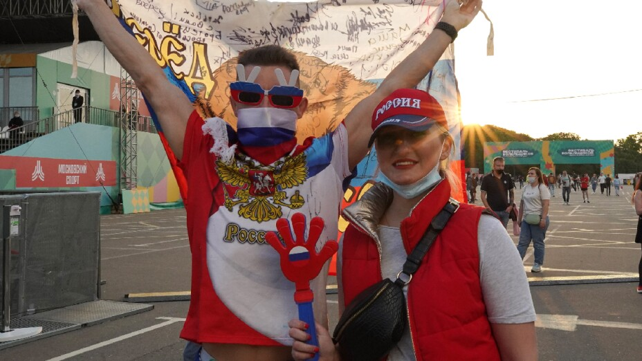 Rusia fans
