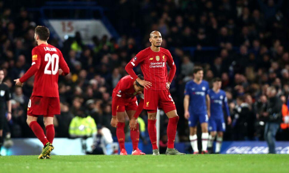 Derrota del Liverpool