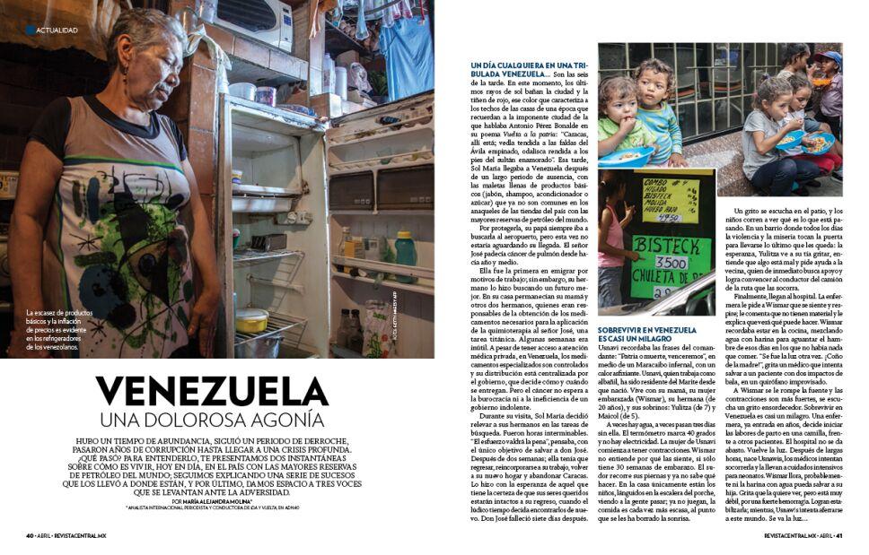 Artículo Venezuela