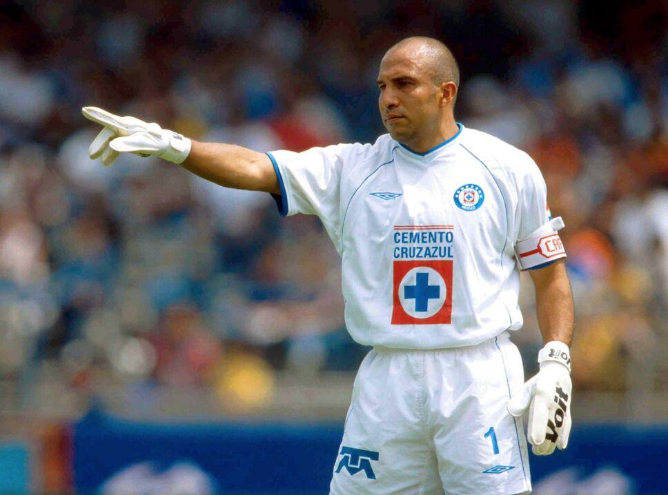 'Conejo' Pérez fue campeón con Cruz Azul