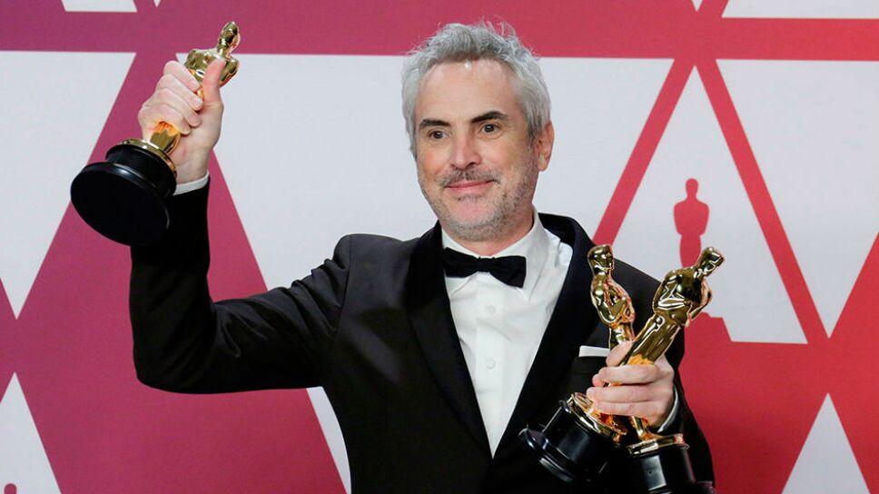 Alfonso Cuarón y sus tres galardones de los Oscars / Foto: Especial