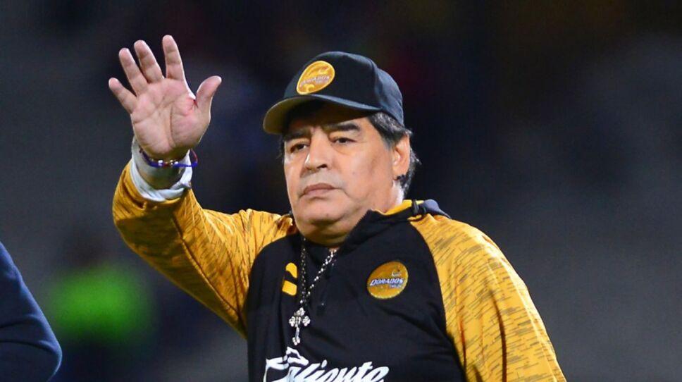 Maradona con los Dorados de Sinaloa