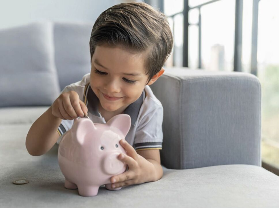 enseñarle a los niños a ahorrar