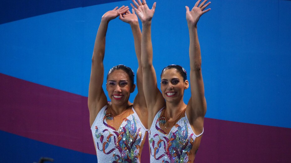 Nuria Diosdado y Joana Jiménez