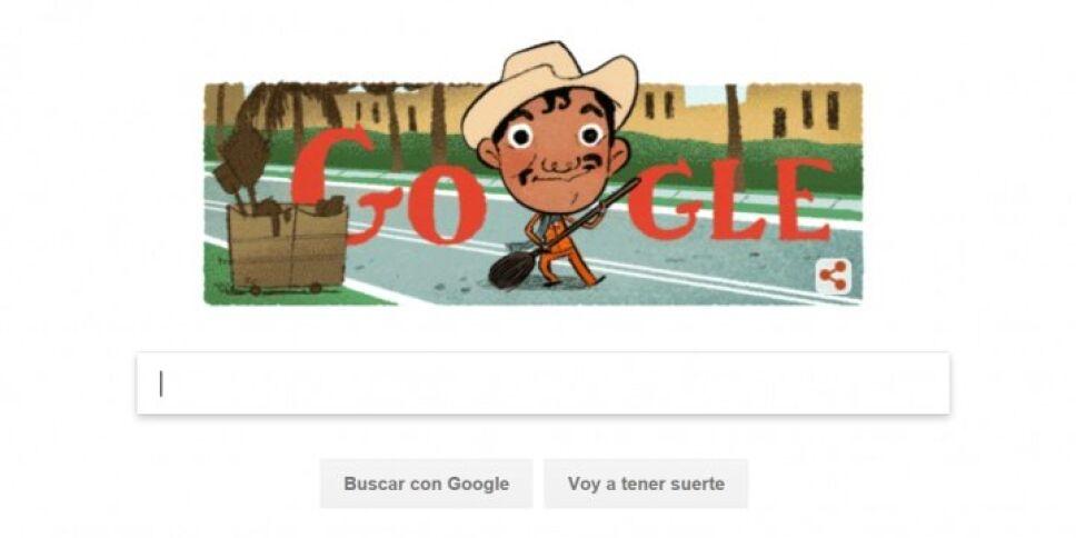 Google celebra aniversario de Cantinflas con doodle