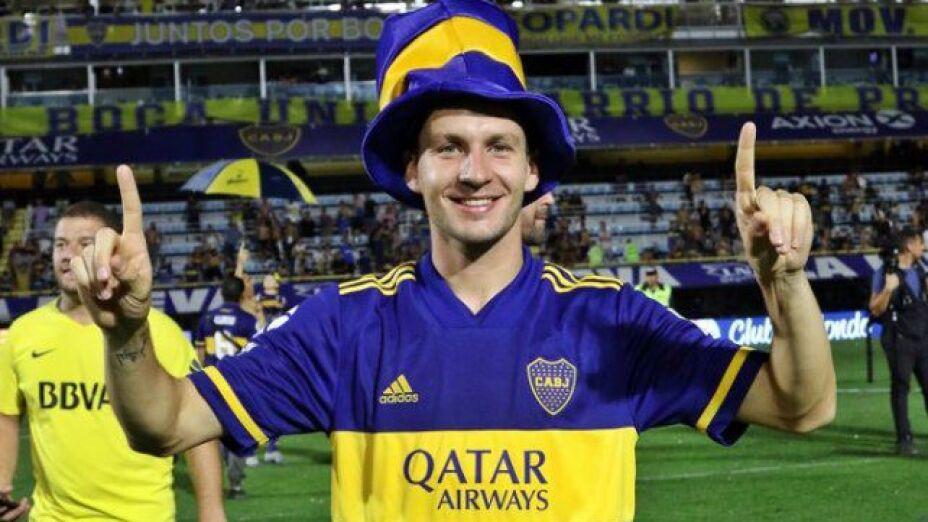 Franco Soldano dejó Boca Juniors