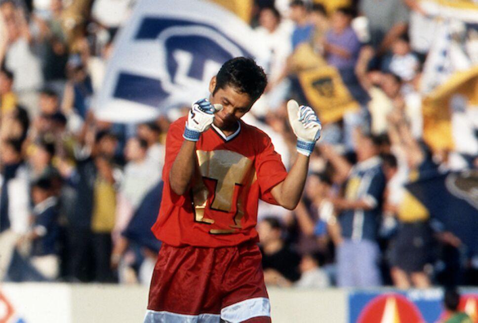 """""""El Inmortal"""" como referente del Club Nacional."""