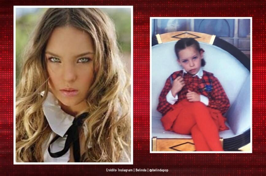 Desde niña la vimos en la pantalla chica...