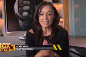 Jackie Nava boxeadora mexicana La Casa del Boxeo
