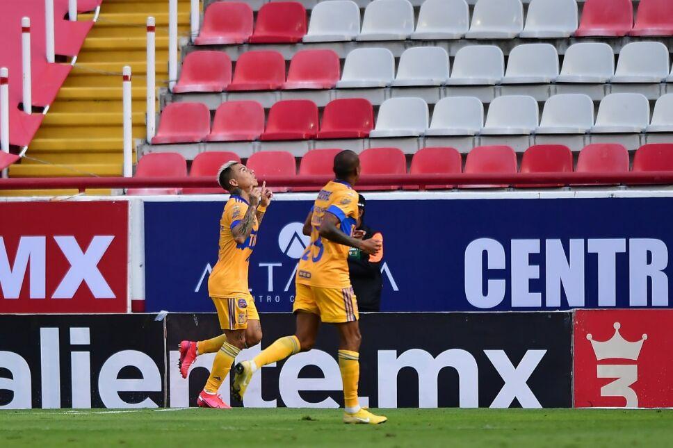 'Edu' Vargas anotó el segundo para los Tigres