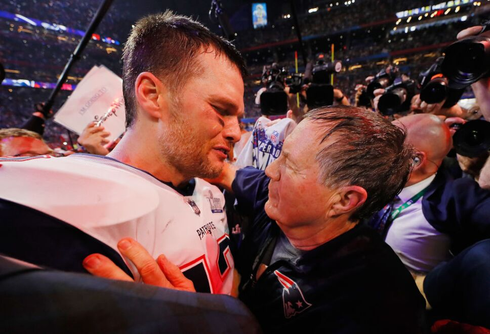 Tom Brady y Bill Bellichick
