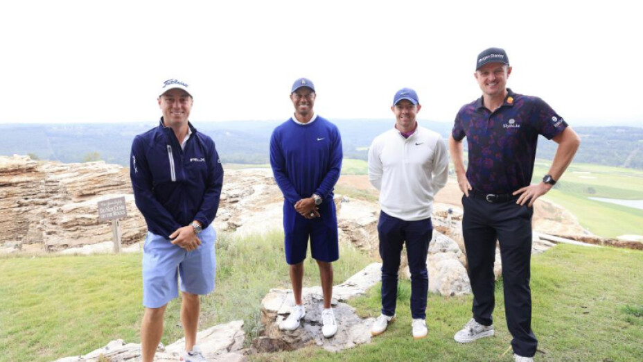 Tiger Woods y Justin Thomas se adjudicaron la Payne's Stewart Valley Cup