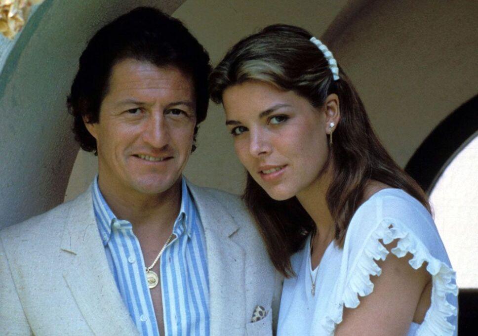Carolina de Mónaco y Philippe Junot retratan un fugaz romance Foto Especial