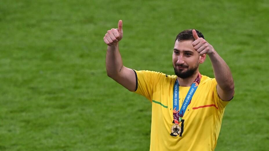 Donnarumma, Campeón con Italia en la Euro 2020
