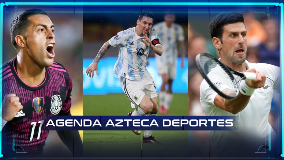 Agenda deportiva 2 de septiembre
