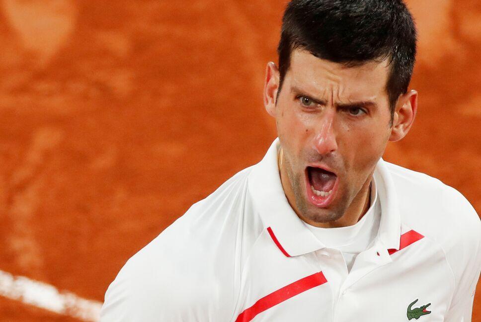 Novak Djokovic en Roland Garros 2020