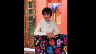 Pati Chapoy sentada en el foro de' Ventaneando'