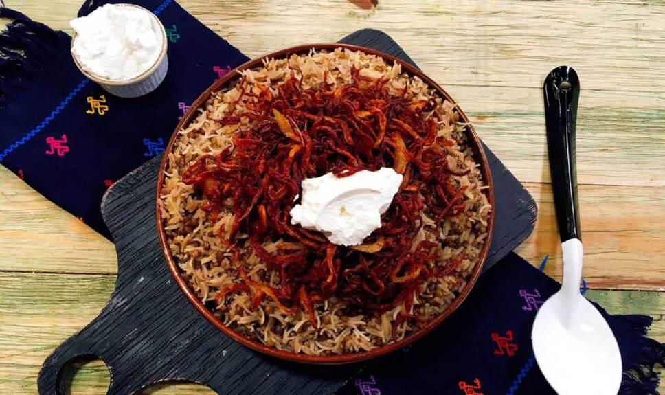 Receta Arroz y fideos con lentejas Cocineros Mexicanos