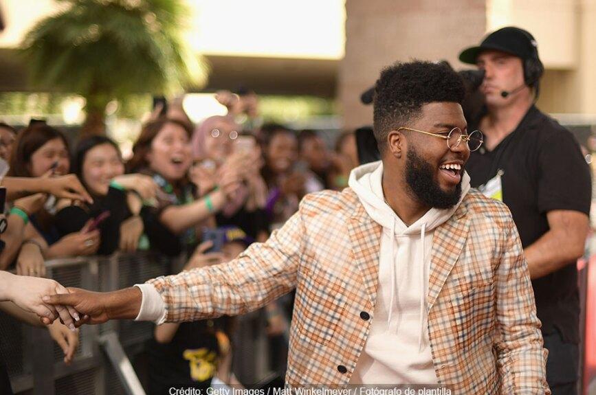 Khalid asiste a los Premios Billboard de la Música 2018 en el MGM Grand Garden Arena.