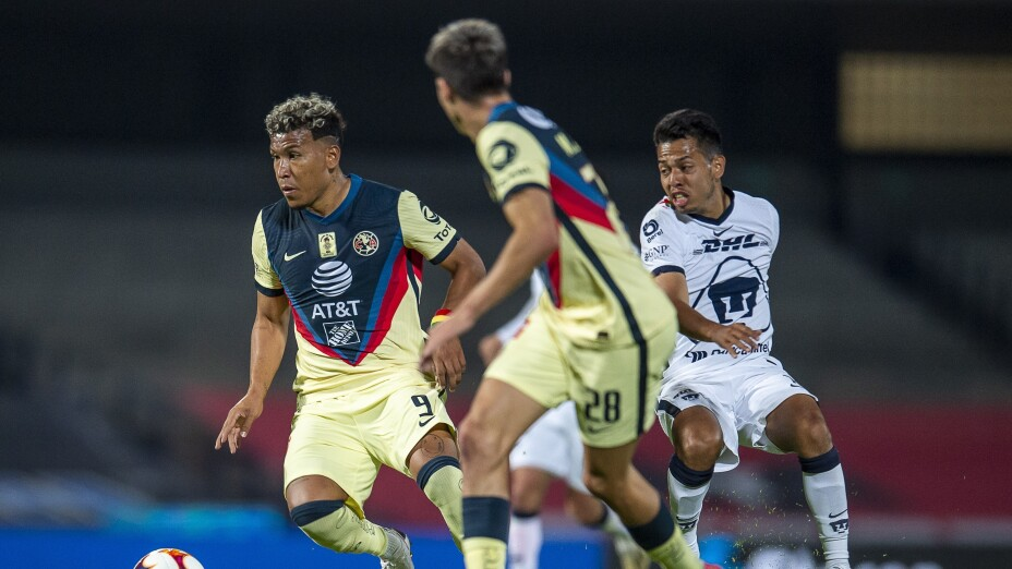 Liga BBVA MX Clausura GUARD1ANES 2021 Pumas UNAM vs America