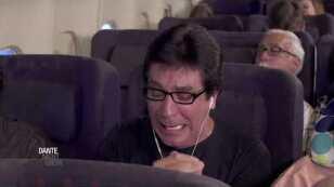 Personas molestas en un avión