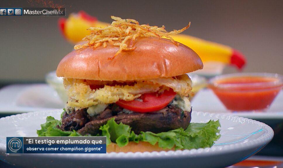 Platillos masterchef méxico, hamburguesa