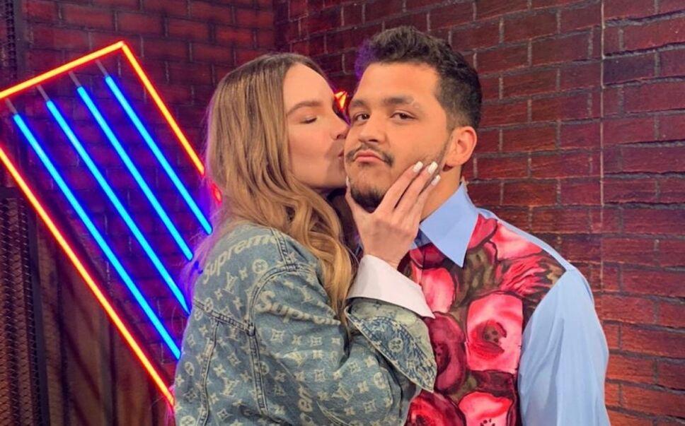 Belinda y Christian Nodal en La Voz México