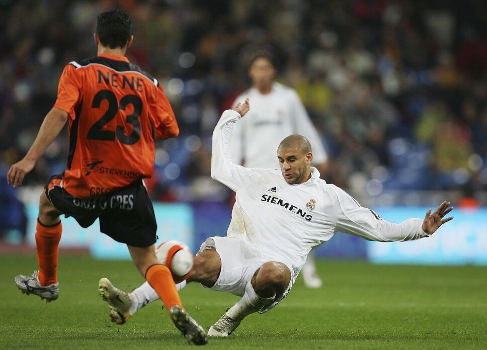 Carlos Diogo en el Real Madrid