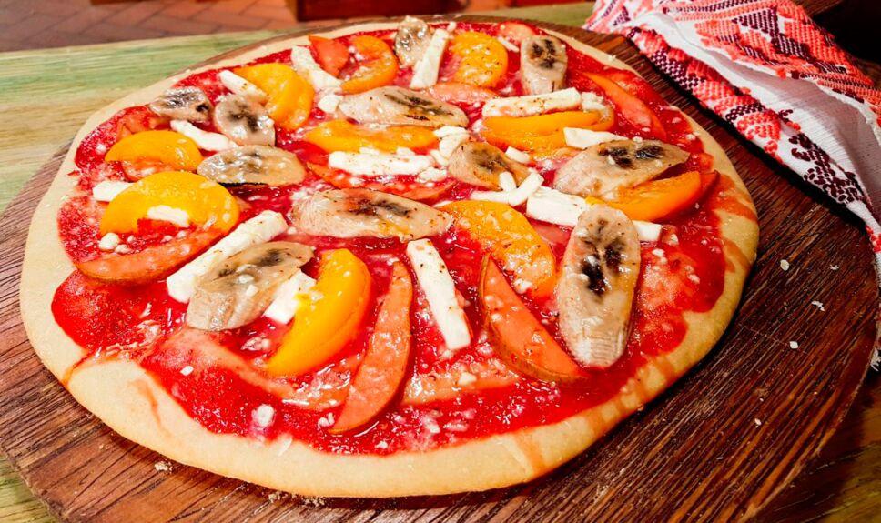 Receta Pizza dulce