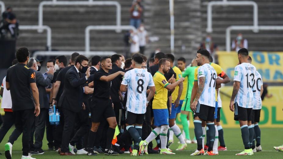 Brasil vs Argentina 2021