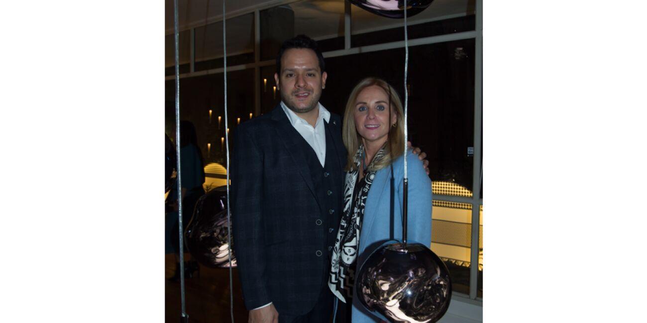 Rodrigo Fernández y Rocío Martínez de Torres