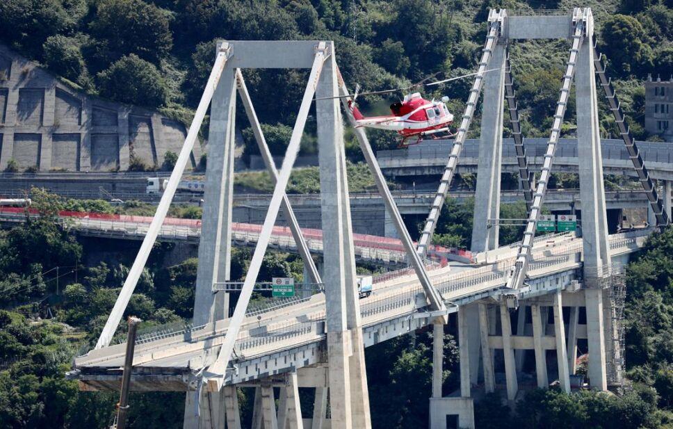 genova puente accidente