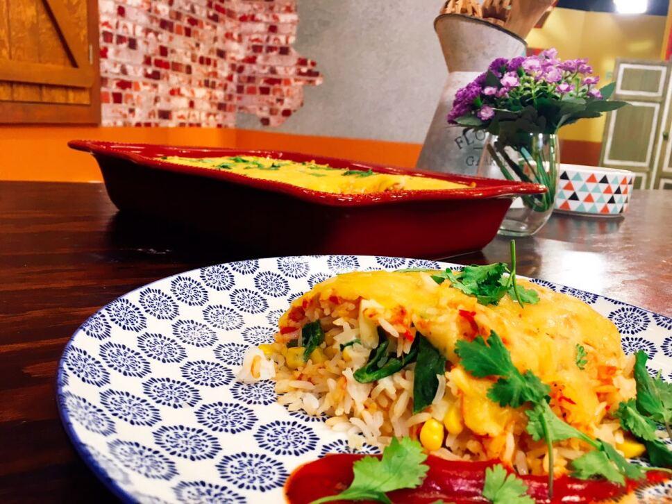 Cazuela de arroz poblano, Cocineros Mexicanos