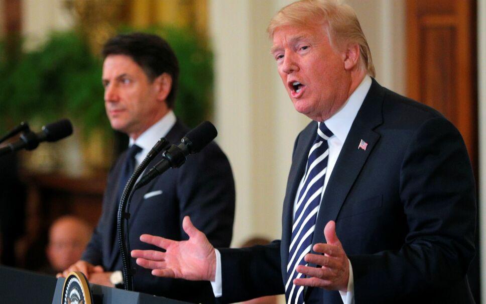 Donald Trump e Irán