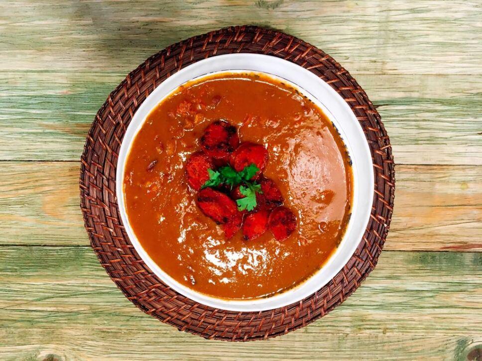 frijoles charros, receta, cocineros mexicanos, tv azteca