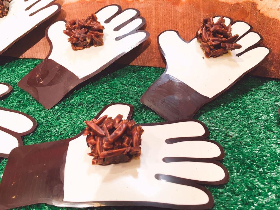 Guantes de chocolate, cocineros mexicanos