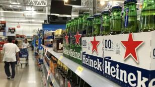 Abasto de cerveza en súper mercados