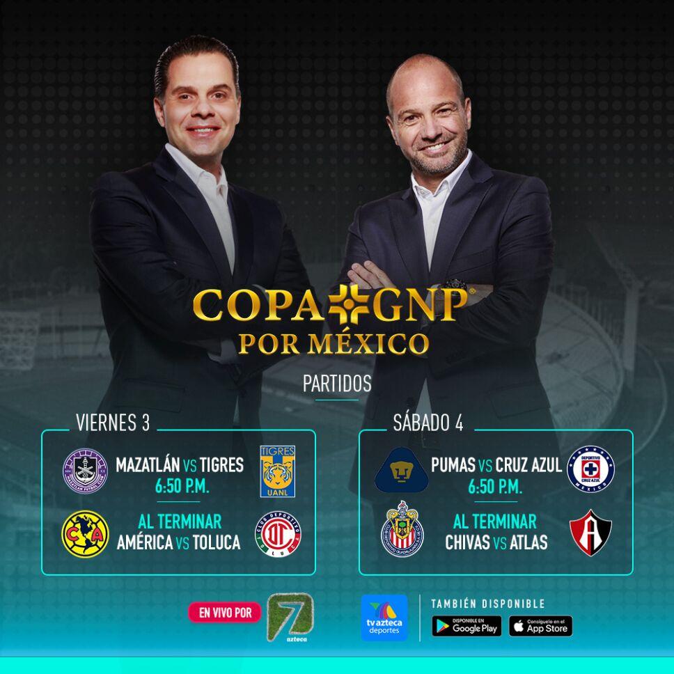 Copa GNP Por México en Azteca Deportes