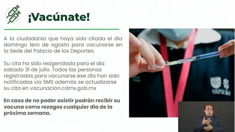 Vacunación Iztacalco