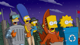 Casita del horror Los Simpson