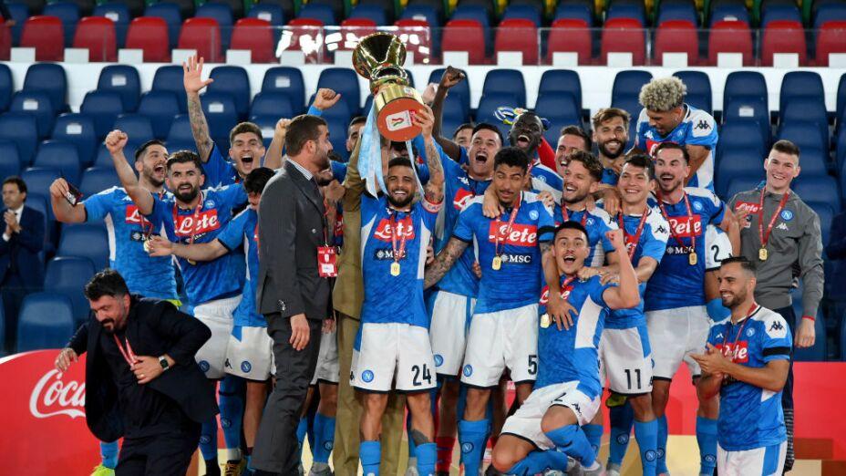 ¡Las mejores imágenes del campeonato del Napoli frente a la Juventus!