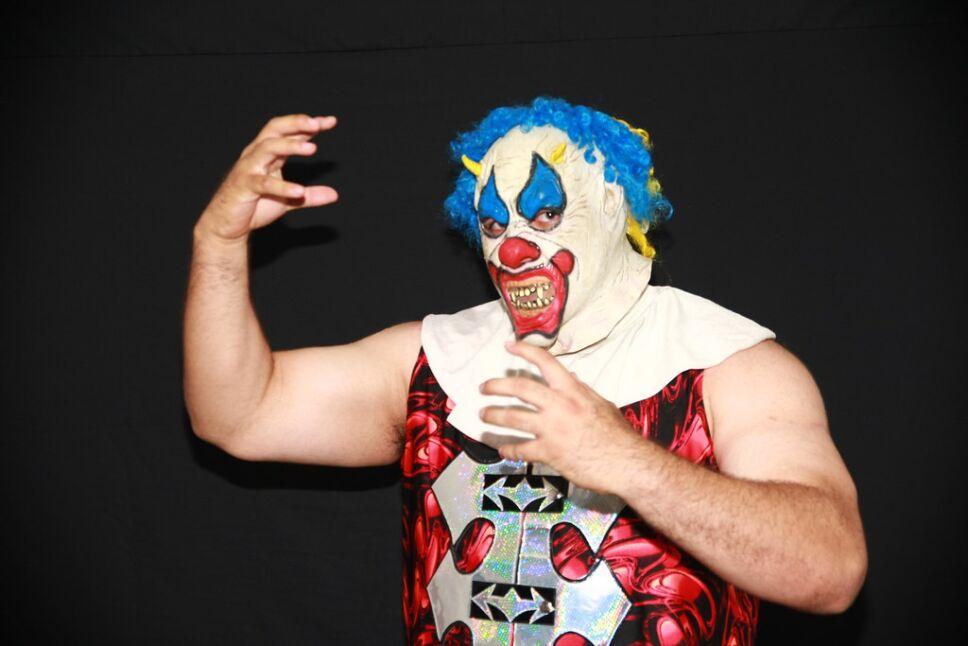 Luchador Murder Clown