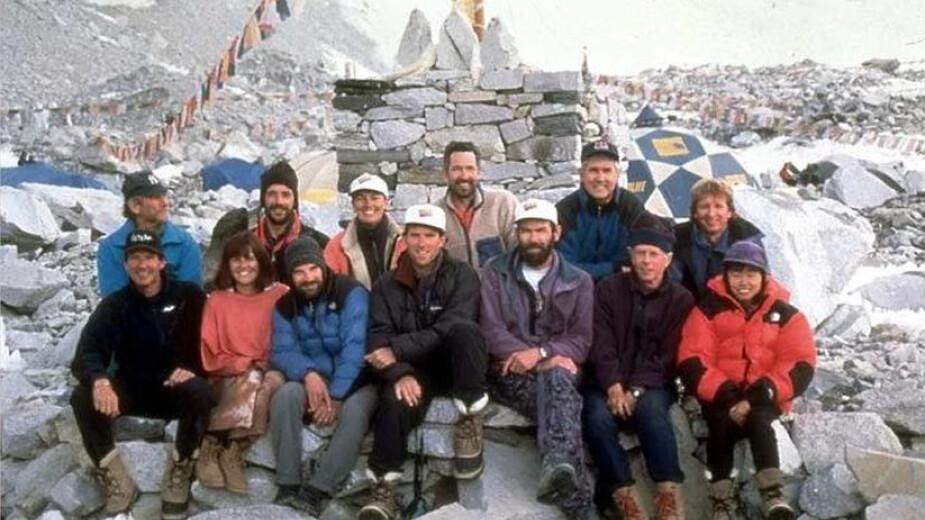 Alpinistas Everest 1996