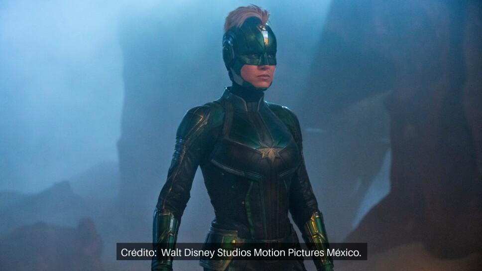 Brie Larson interpreta a Carol Danvers.