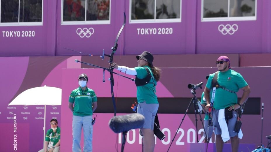 Alejandra Valencia y Luis Álvarez tiro con arco Tokyo 2020