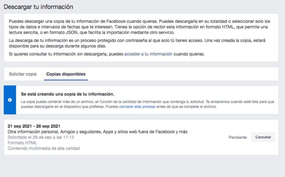 Facebook, cómo descargar, información 3.jpg