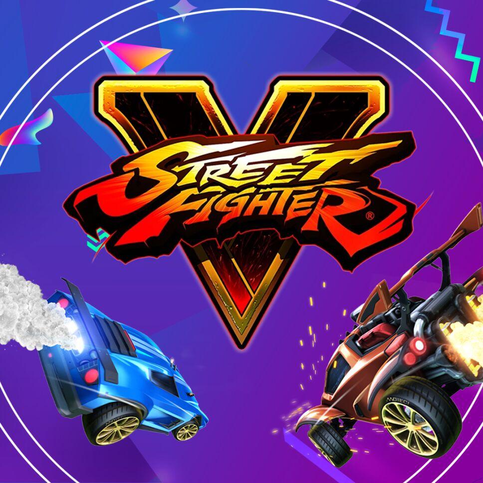 Street Fighter y Rocket League esports en Olímpicos