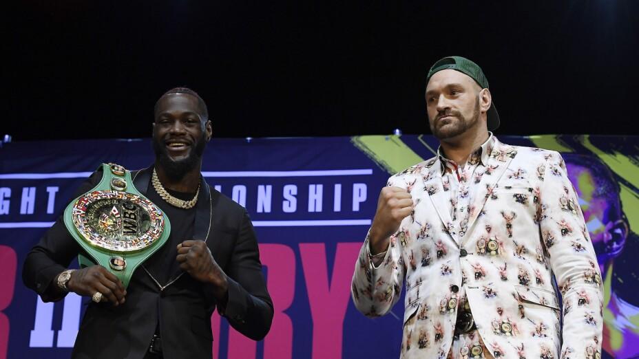 Deontay Wilder y Tyson Fury
